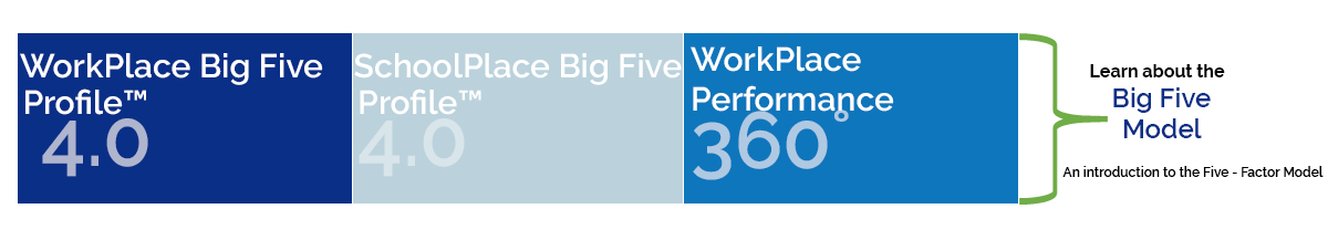 Distinctions Aisa - WorkPlace Big Five Profile 4.0 Demonstration